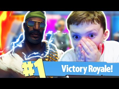New RAMBO Skin In Fortnite! New Fortnite Battle Royale Skins! (PRO 11 Year Old Fortnite Player)