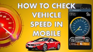 How to Check Vehicle Speed in Mobile With GPS Speedometer screenshot 1