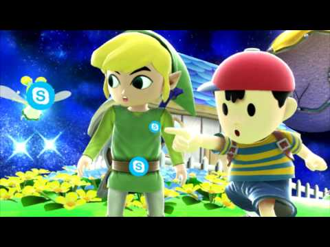 Ness And Toon Links Gay Hot Moist Skype Call