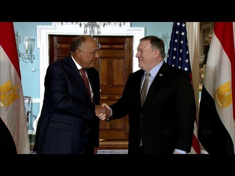 Secretary Pompeo Meets with Egyptian Foreign Minister Shoukry