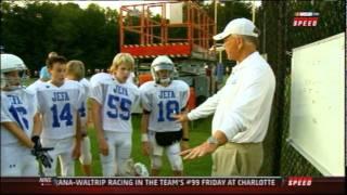 Joe Gibbs Coaches Again, his Grandson