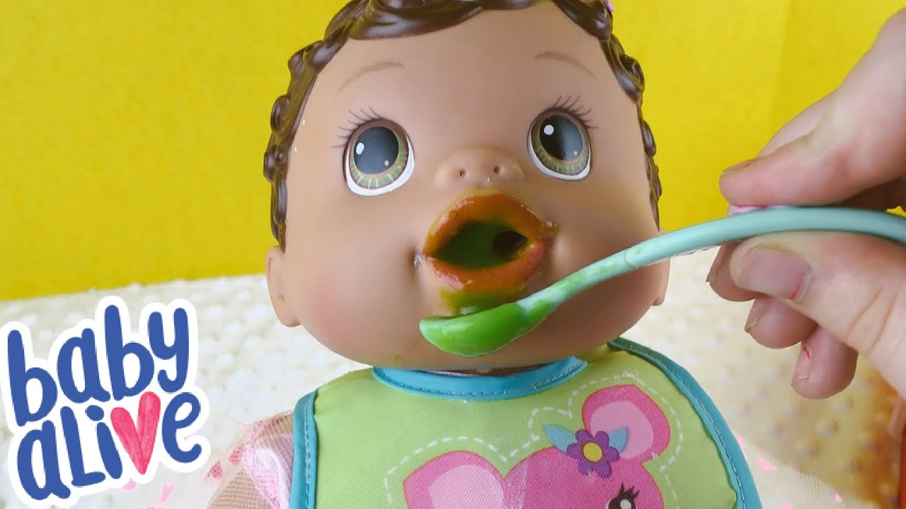 75eb98483c9c Zoe Feeding Baby Alive Changing Time Doll - YouTube