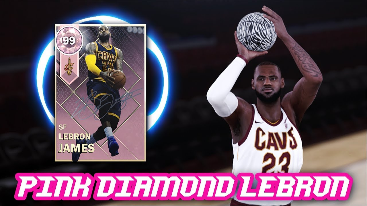 61876f5dee2d7 NBA 2K18 PINK DIAMOND 99 OVERALL LEBRON JAMES IS UNSTOPPABLE!!