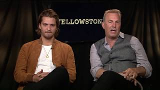 "Kevin Costner & Luke Grimes Talk New Movie ""Yellowstone"""