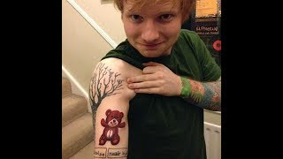 刺青對Ed Sheeran紅髮艾德的深層涵義是?!(中字/艾倫秀)