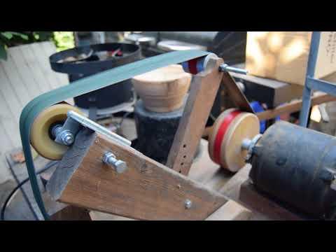 DIY $10 belt grinder