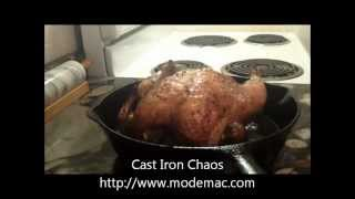 Easy Roast Chicken In A Cast Iron Skillet