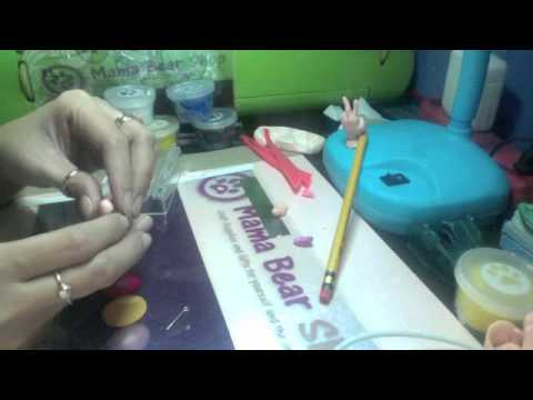 how to make eraser clay
