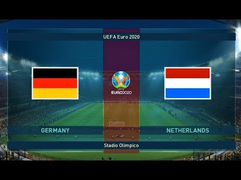 Germany vs Netherlands | UEFA Euro | PES 2019