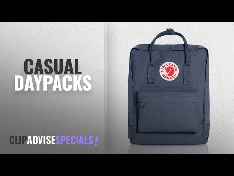 10 Best Casual Daypacks [2018 Best Sellers]: Fjallraven - Kanken Classic Pack, Heritage and