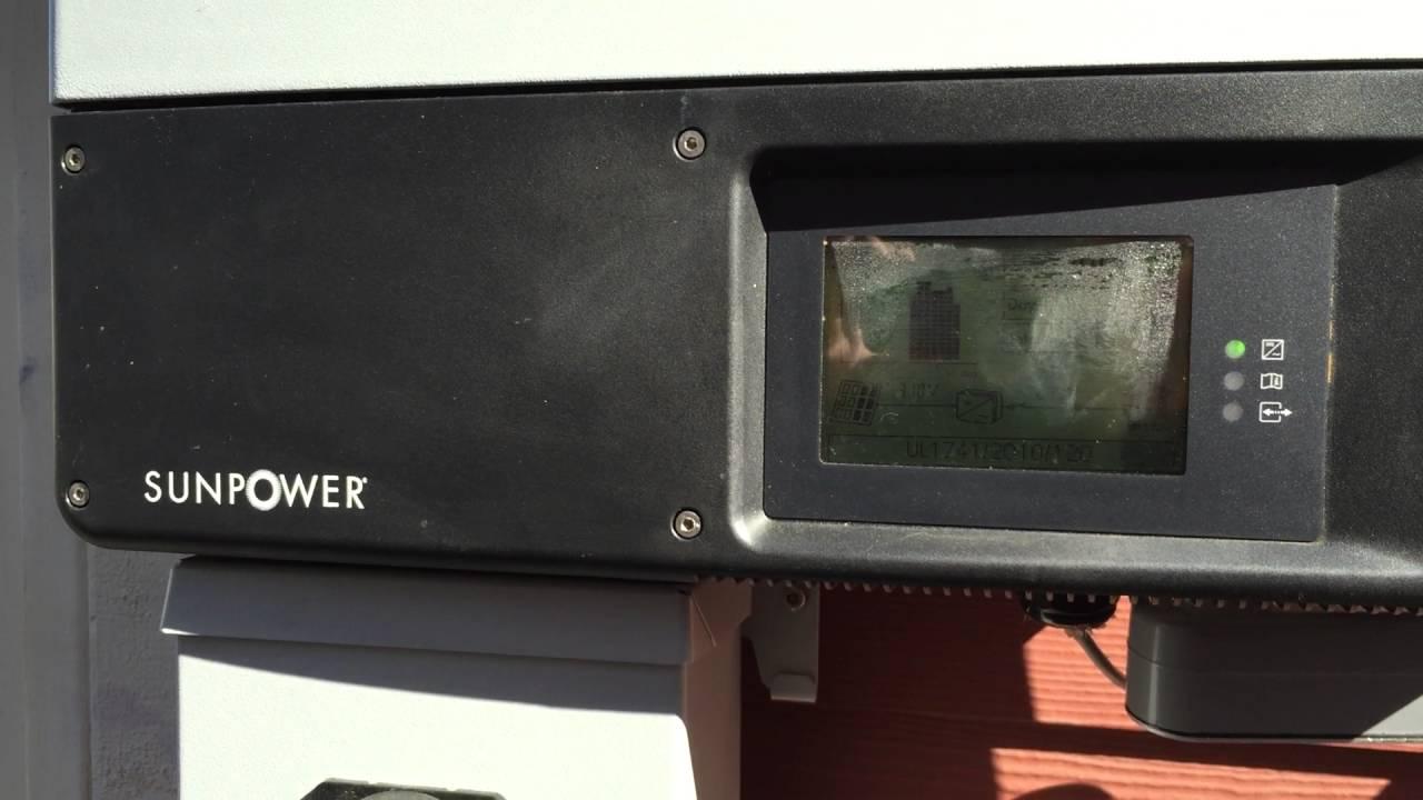 SunPower Solar Inverter Issues (Sunny Boy 3800TL-US-22)