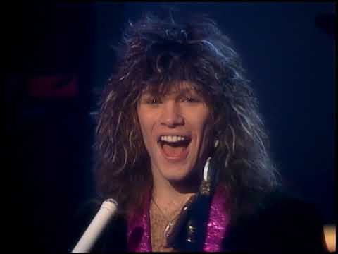 American Bandstand 1985- Interview Bon Jovi - YouTube