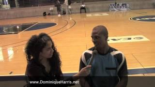 Dominique Harris Interviews Sebastian Telfair (Post Lockout)