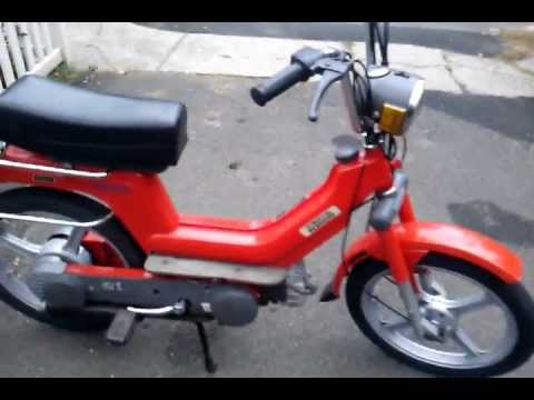 1980 vespa si moped youtube. Black Bedroom Furniture Sets. Home Design Ideas