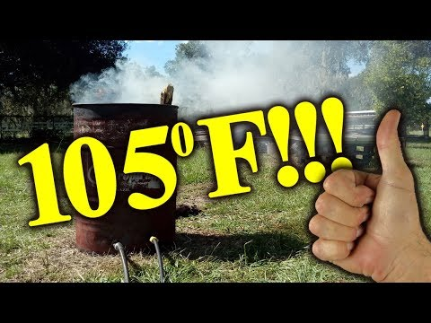 How To Heat A Pool With A Burn Barrel