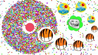 Agario TROLLING TO THE HIGHEST SCORE 36K Mobile And Private Experimental Mode Agar.io Funny Moments
