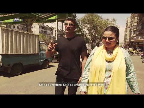 National Ka Karachi Episode 3 | Part 1: Faiza  & Chef Saadat On A Quest For The Best Bombay Biryani