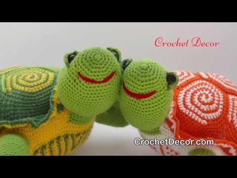 Amigurumi Turtle Pattern : Turtle crochet toy pattern amigurumi youtube