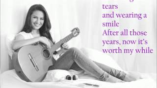 Repeat youtube video Glad it's Over by Julie Anne San Jose (lyrics)