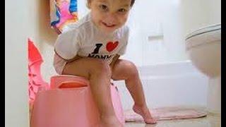 طريقة تعود الاطفال علي دخول الحمام