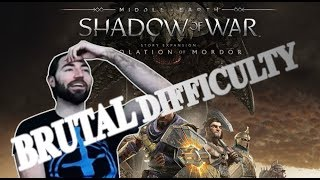 Complete Desolation of Mordor Run on Brutal Difficulty. Challenge our Score!