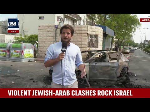 Violent Jewish-Arab Clashes Rock Israel