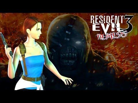 Resident Evil 3: Nemesis HD PROJECT Полное прохождение (HARD)