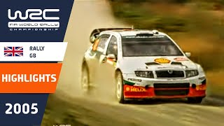 WRC Highlights: Great Britain 2005: 52 Minutes