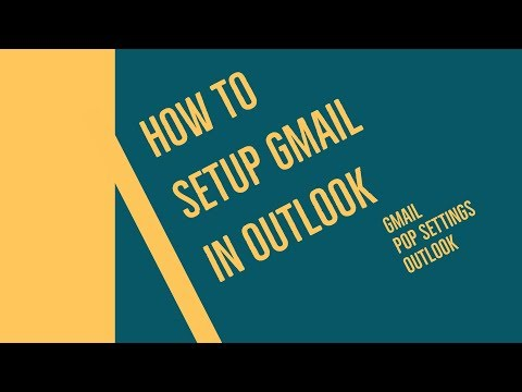 How to set up a pop/imap email account in microsoft outlook 2020