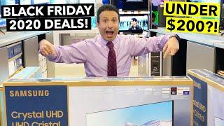 Top 10 Black Friday TV Deals 2020