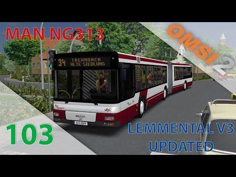 OMSI 2 BCS Episode n°103 : En direction de la campagne  Man NG313 DLC Citybus Series