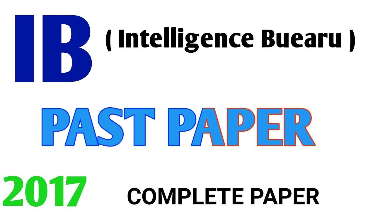 Ib past paper | ib past paper 2017/2018 | Ib past paper gd 11| nts past  paper