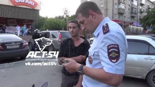 Погоня за нетрезвым на скутере Новосибирск