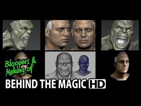 "The Avengers (2012) Making of & Behind the Magic ILM ""HULK"" (Part 1/2)"