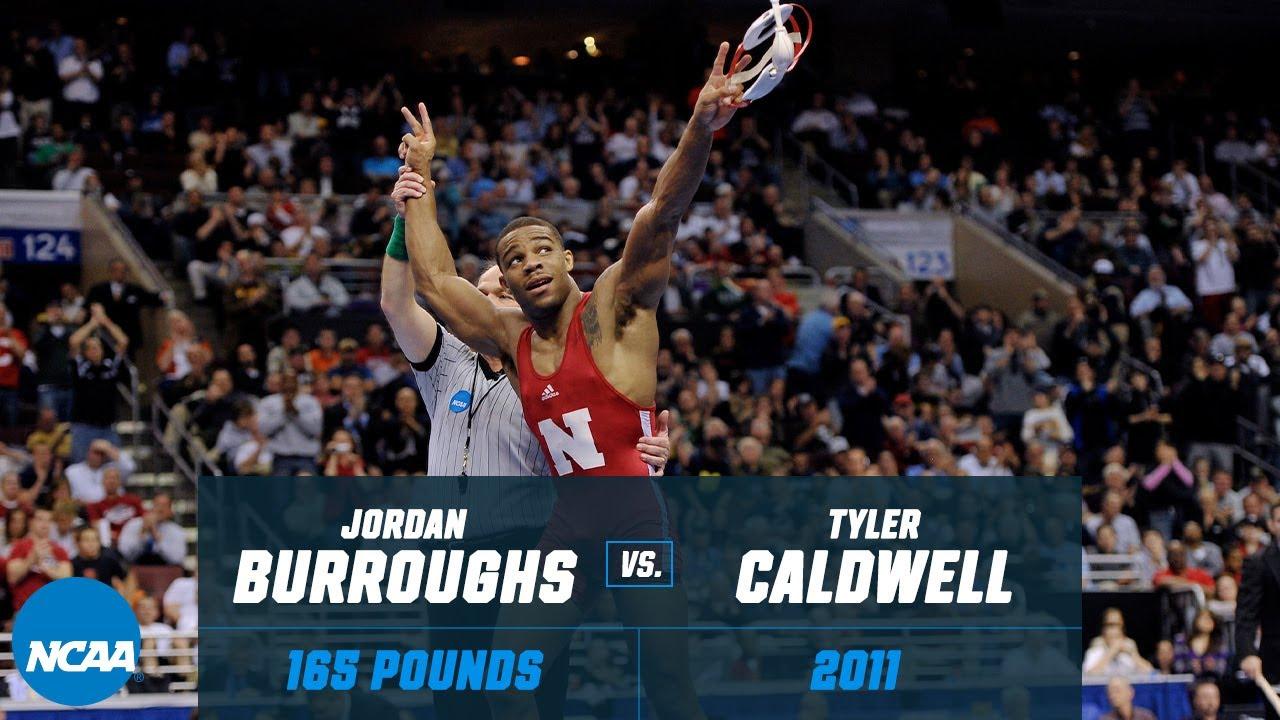 Jordan Burroughs vs. Tyler Caldwell: 2011 NCAA title match (165 lbs.)