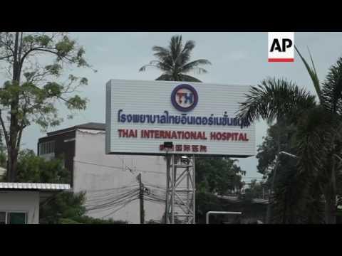 British actor Paul Nicholls in Bangkok hospital