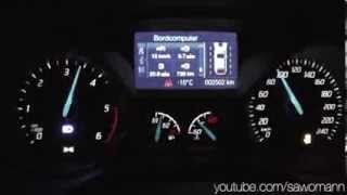 2014 Ford Focus 1.6 TDCI 115 HP 0-100 km/h Acceleration GPS Measurement
