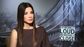 EXTREMELY LOUD AND INCREDIBLY CLOSE: Sandra Bullock Talks About The Film
