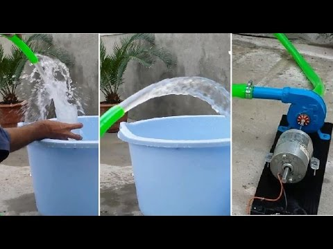 How To Make A Super Powerful Small Water Pump 15ft