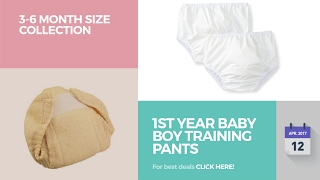 1St Year Baby Boy Training Pants 3-6 Month Size Collection