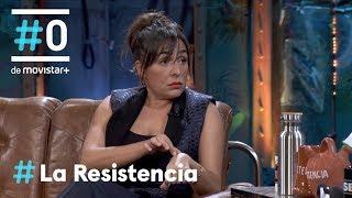 LA RESISTENCIA - Candela Peña inaugura nuestro libro de poemas   #LaResistencia 16.12.2019