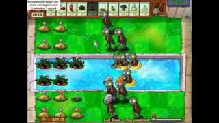 Plants vs Zombies: Peculiar last stand methods #1 Potato mines and tangle kelp.