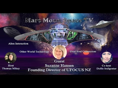 UFO's and Alien contact through 40 years   Suzanne Hansen UFO researcher