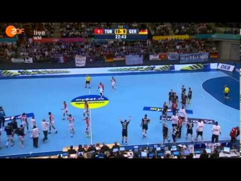 Hand - WC 2013 / Tunisie Vs Allemagne 25-23 Full Match