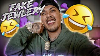 I Bought & Flexed FAKE JEWELRY like it's REAL to see How The Guys Would React!! **HILARIOUS**