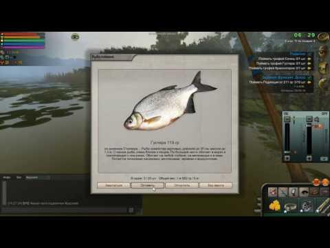 атомная рыбалка густера