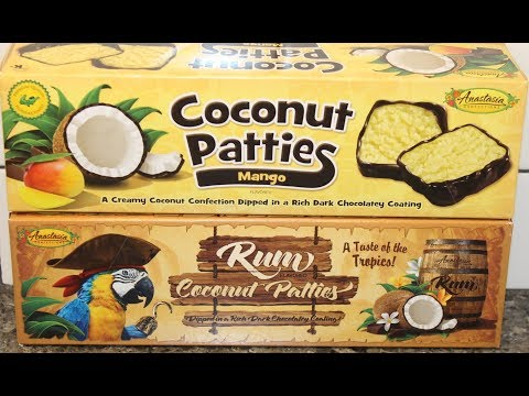 Anastasia Confections Coconut Patties: Mango and Rum Review