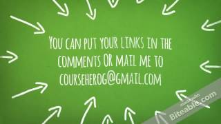Get FREE Course Hero unlock, Chegg access, Grammarly access-Cheapest! !!!