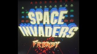 Space Invaders Frenzy - Taito 2016 Raw Thrills - Arcade Game
