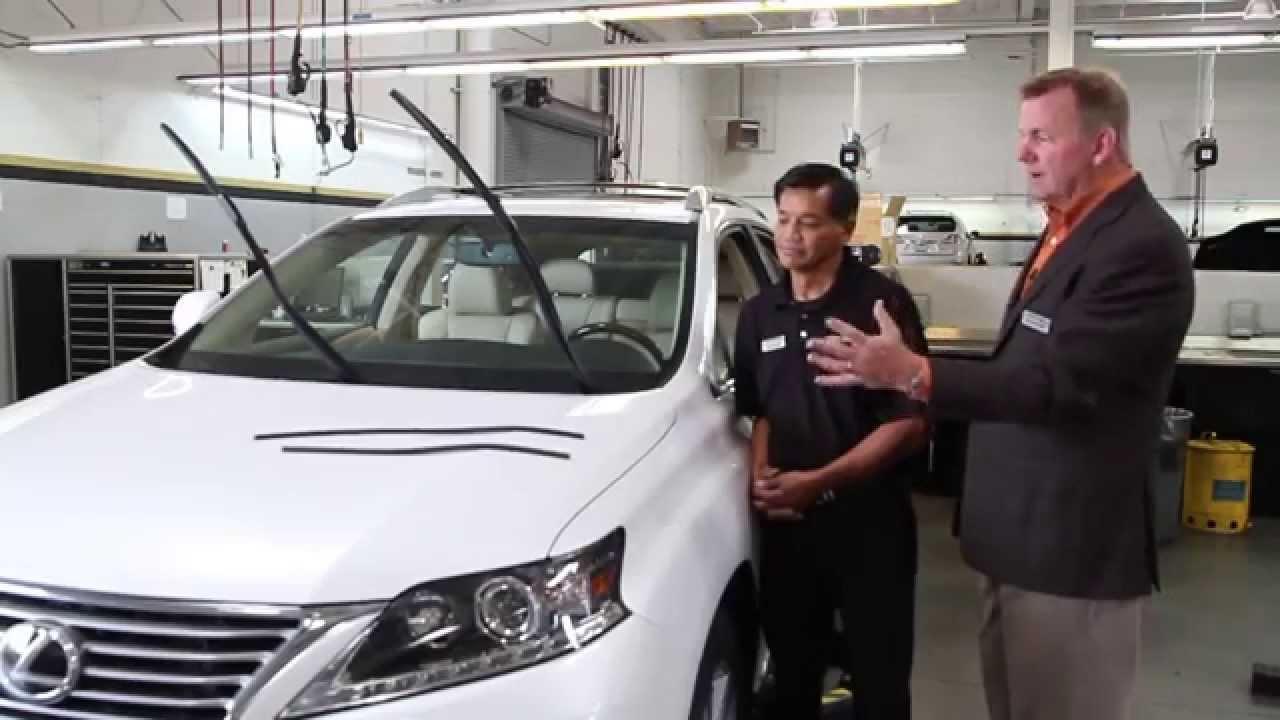 Magnussen Lexus Service Tips: Windshield Wiper - YouTube